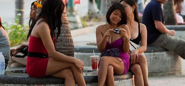 Pattaya beach hookers