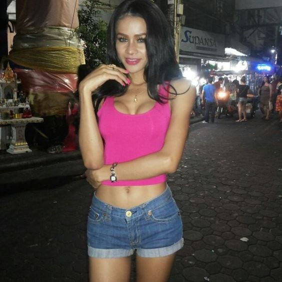 Thailand shemale free video