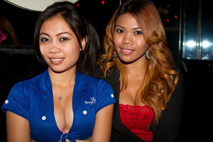 Freelancer girls in Club