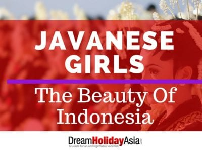 Javanese Girls Beauty of Indonesia