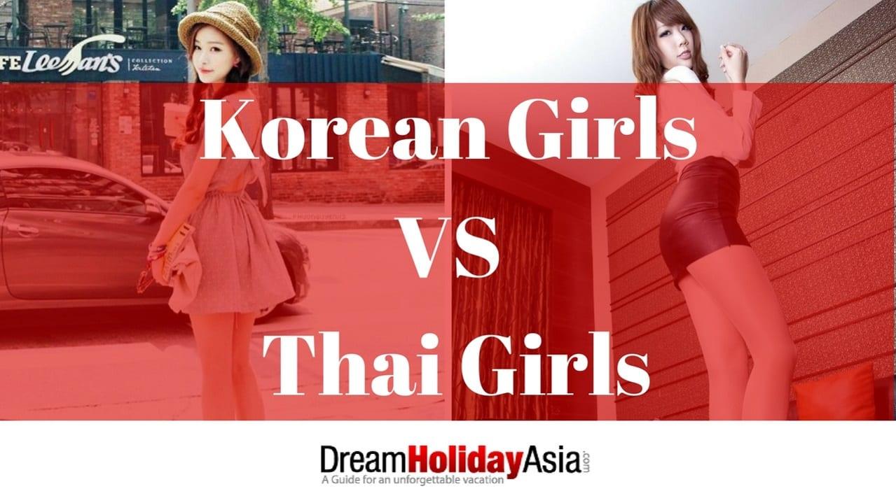 Korean Girls VS Thai Girls