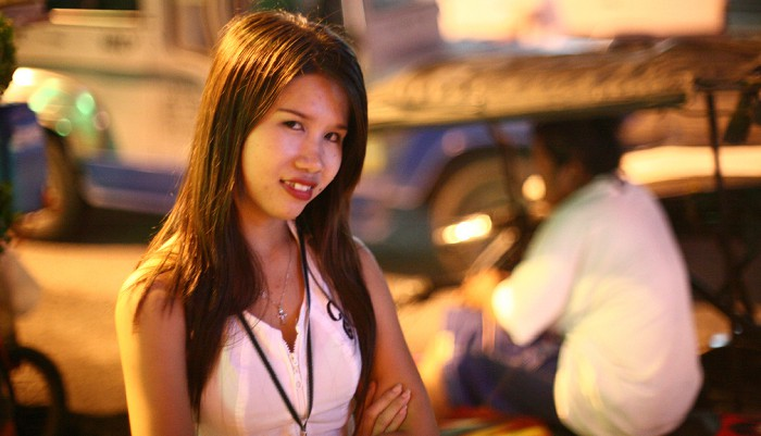 Angeles city Girl pick up from the street
