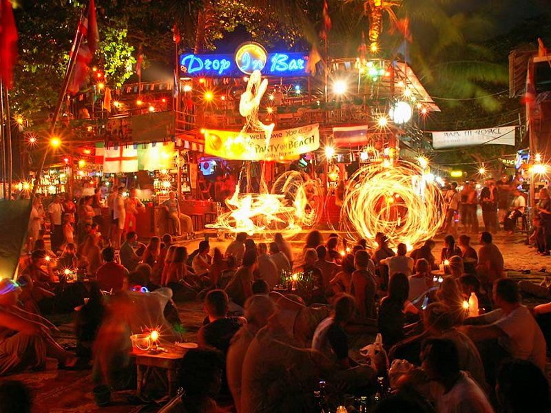 Full moon party is the best in the world