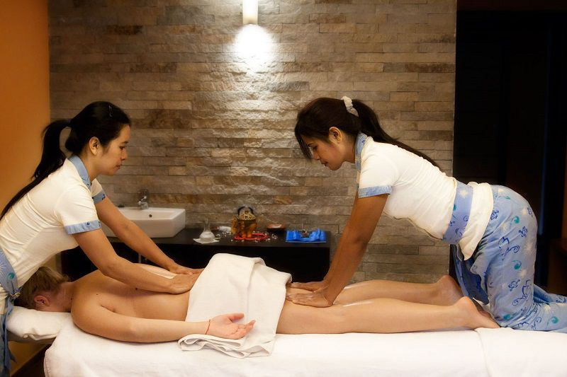 Thai happy end massage