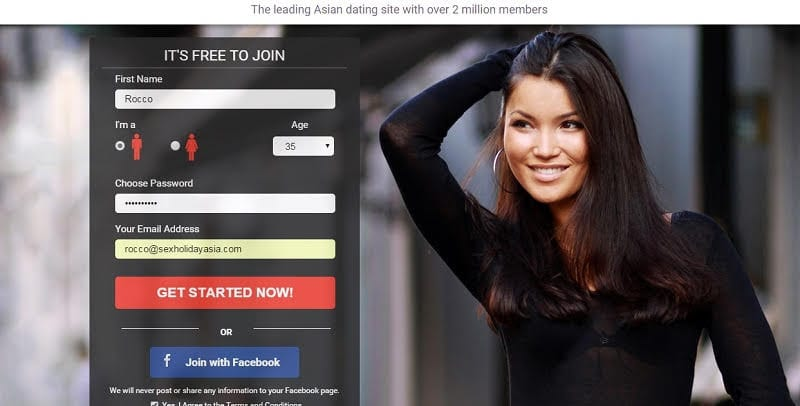 Dating Asian women sign up