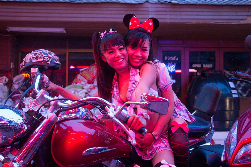 Pattaya girls in Soi 6