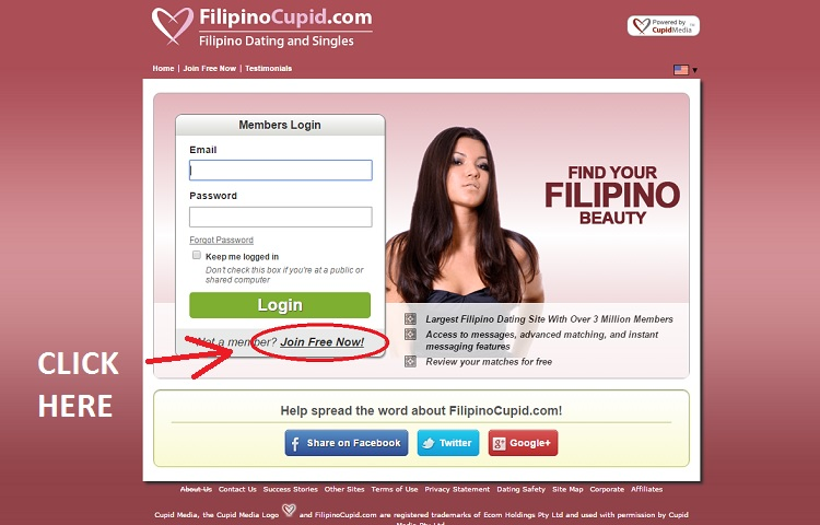 Cupid dating site sign up