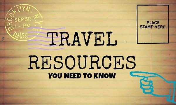 TRAVEL-resources