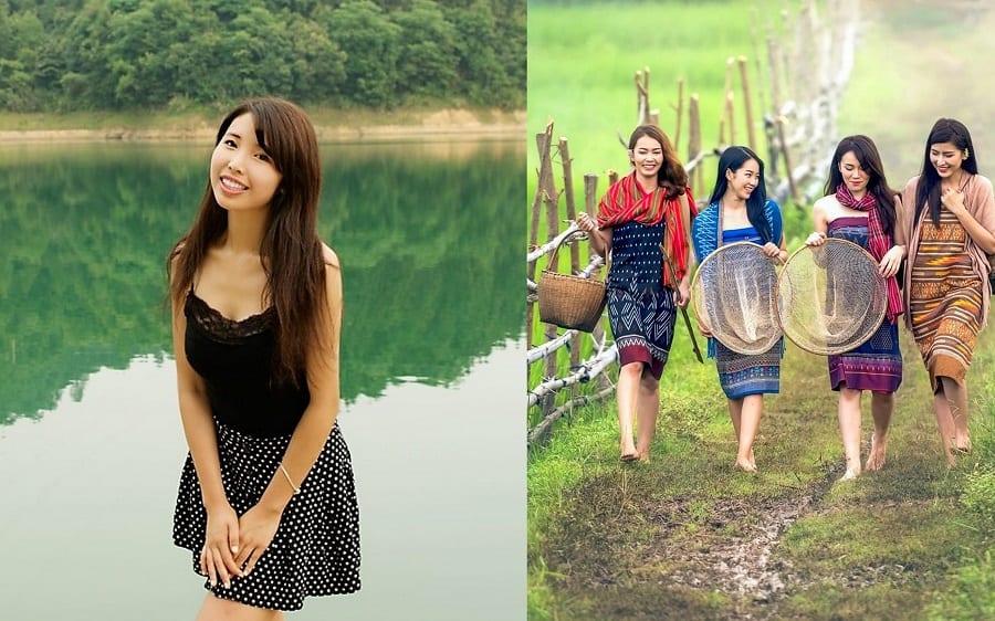 Asian village girls