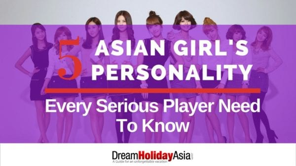 Five Asian Girl Personality Every Serious Player Needs to Know