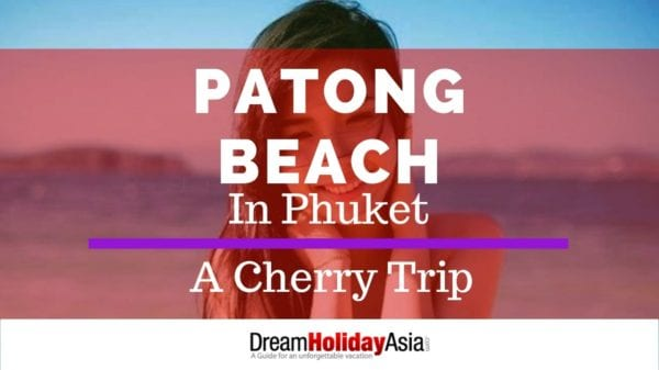 Patong beach in phuket - girls bar fine and beers