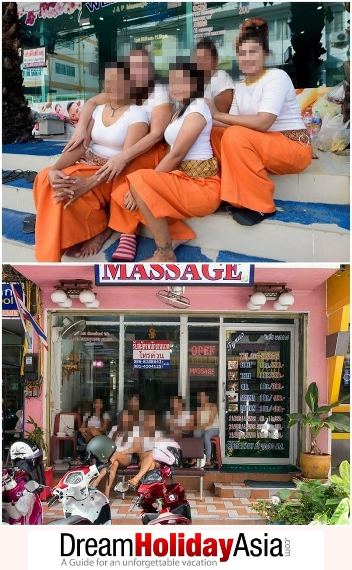 sex massage and traditional thai massage in Thailand