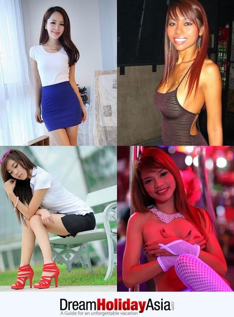 Bangkok sexy girls and ladyboys