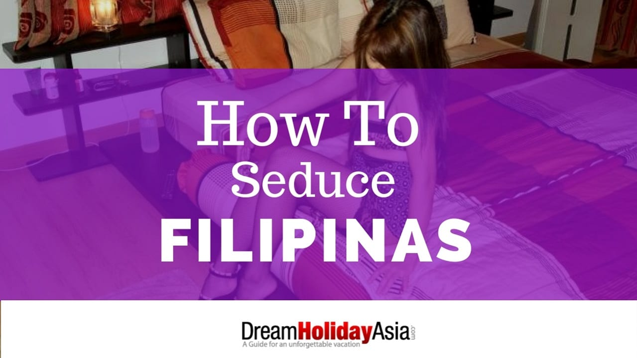 filipina girls seduce in the beach