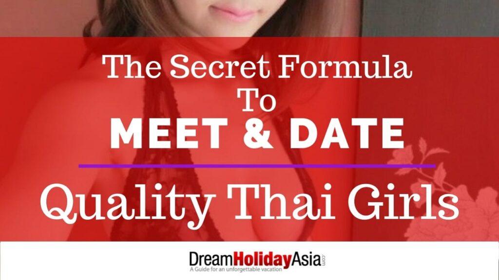 secrets to date thai girls