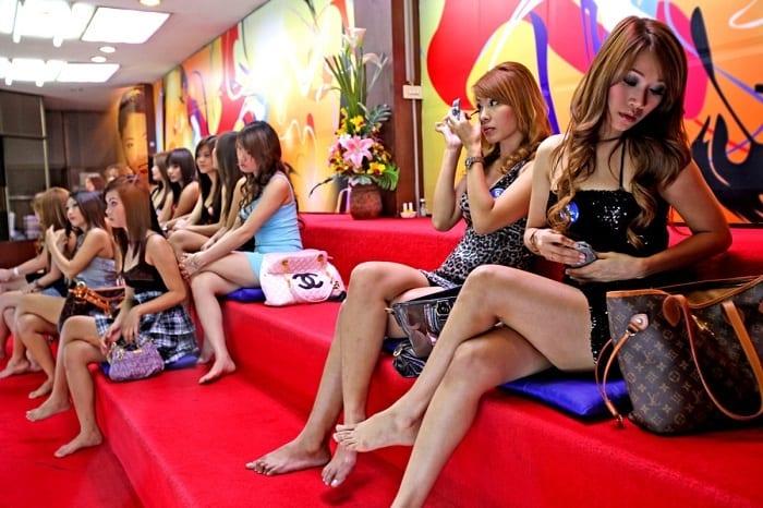 Bangkok soapy girls
