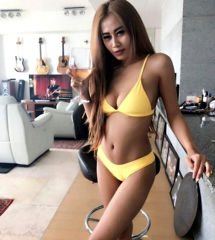 fun and outgoing woman in indonesia