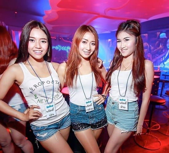 girls in the best chiang mai club