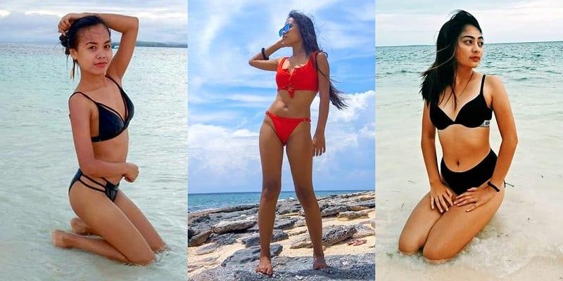 hot girls Alona Beach in Panglao