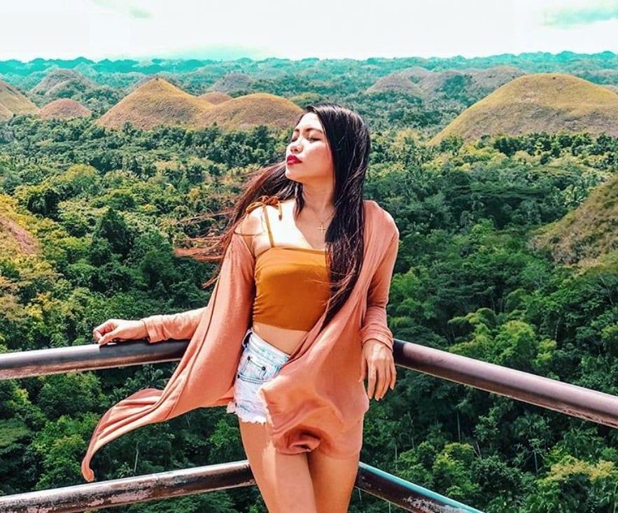 pinay girl during my holiday in Bohol