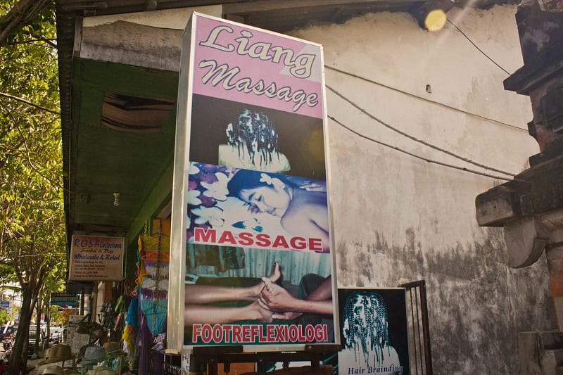 happy ending massage shop in Indonesia