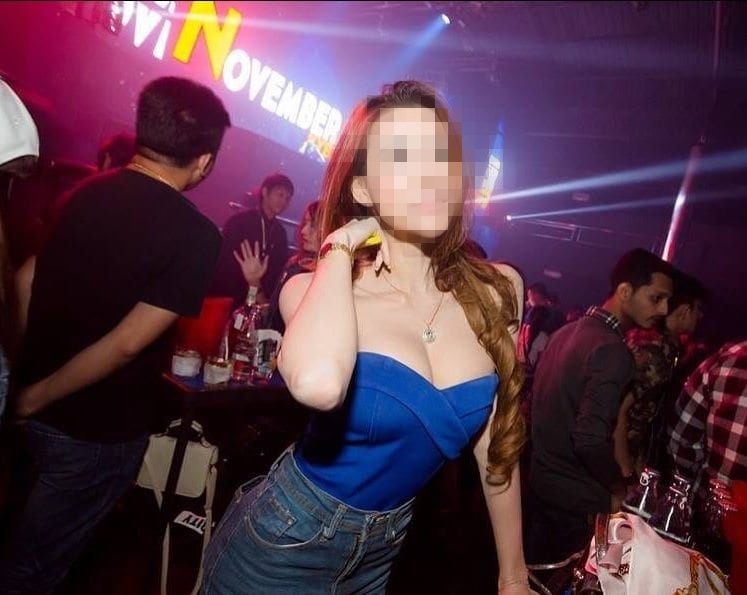 hot Thai girl clubbing during a sex holiday
