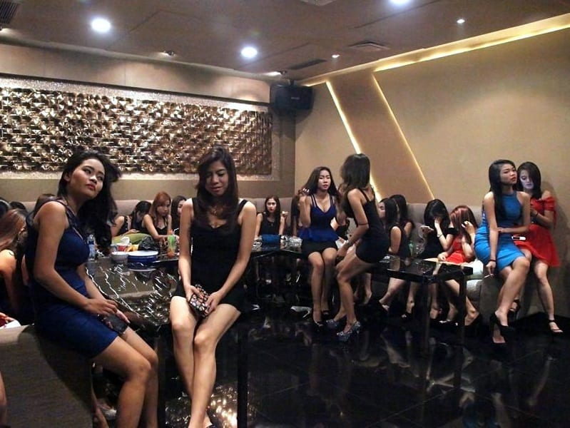 hot karaoke girls in Indonesia KTV