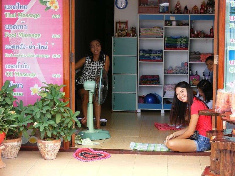 massage girls in Isaan