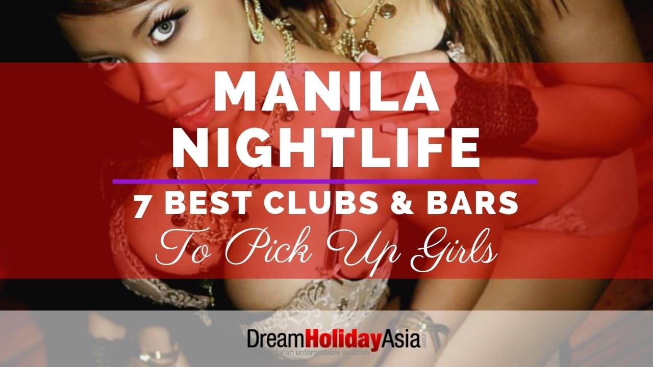 pick up bars in Manila to meet girls