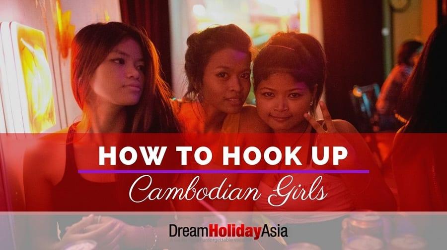 hooking Cambodia girls