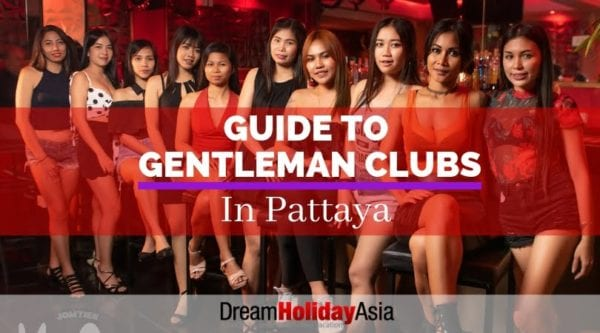 Gentleman Clubs in Pattaya