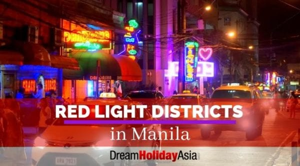 red light districts in manila