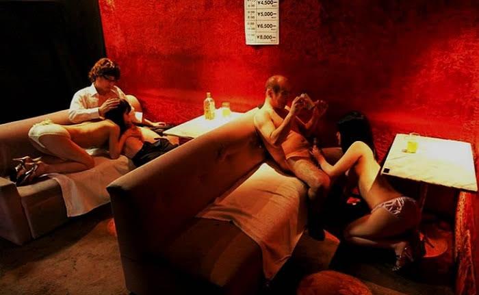 pink salon in tokyo blow job girls
