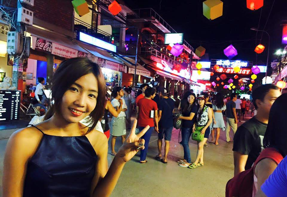siem reap red light district with girls