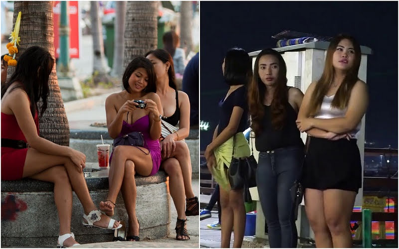 Pattaya prostitutes in Beach Road