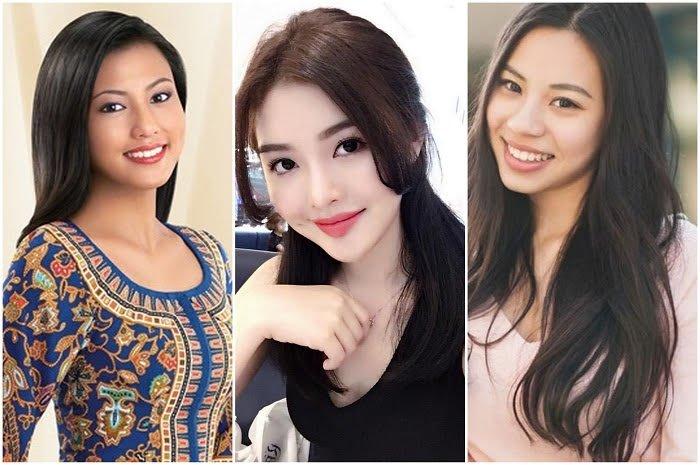 three ethnics girls in Singapore