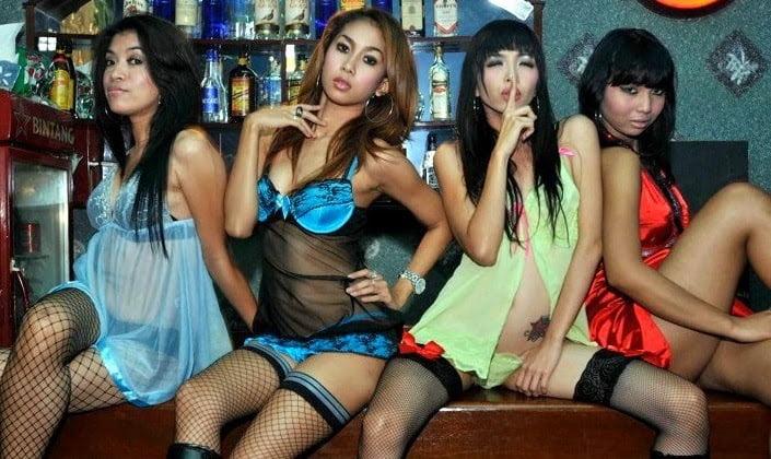 bali bar girls