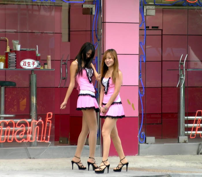 Taiwan prostitutes in the street