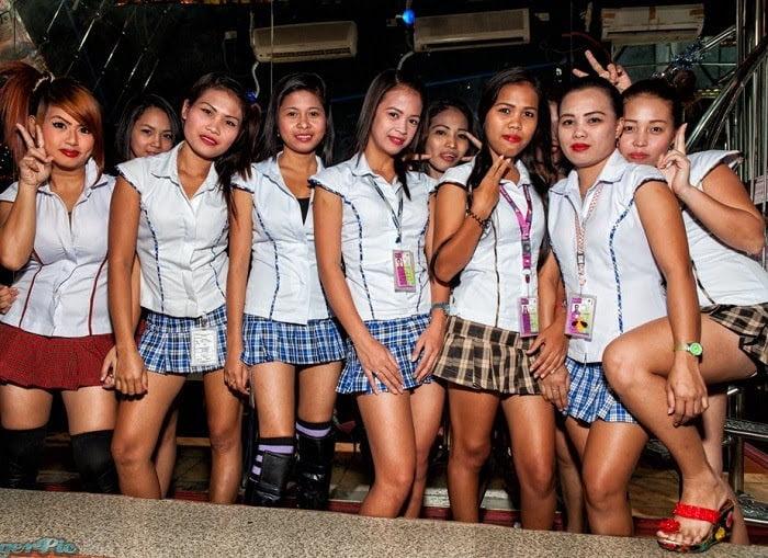 bar girls in philippines