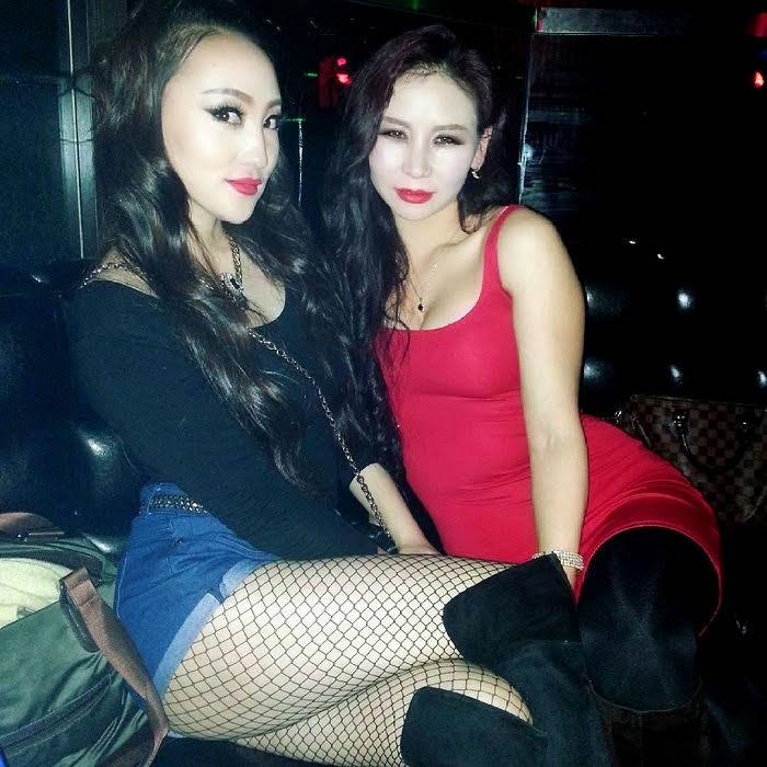 Mongolian hookers at the bar