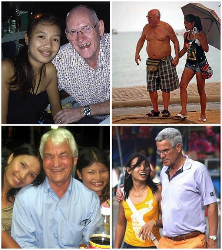 Foreign men with Cambodian girlfriends