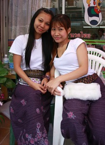Pattaya massage girls