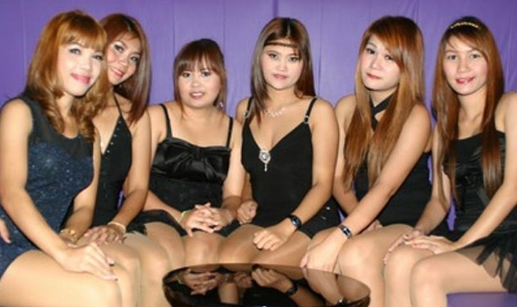 Thai karaoke bar hostess girls
