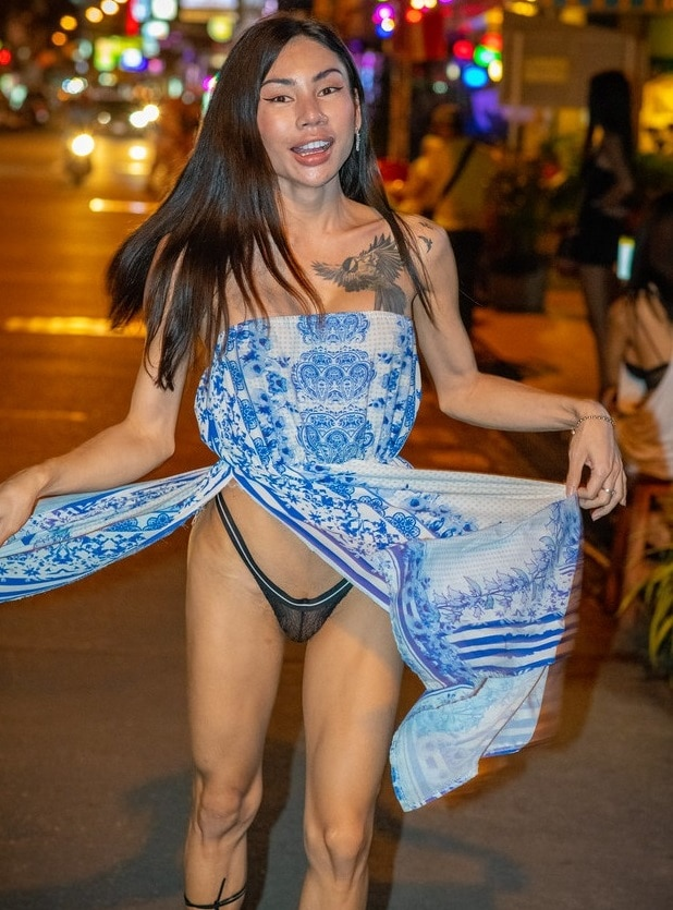 Thai ladyboy in Pattaya