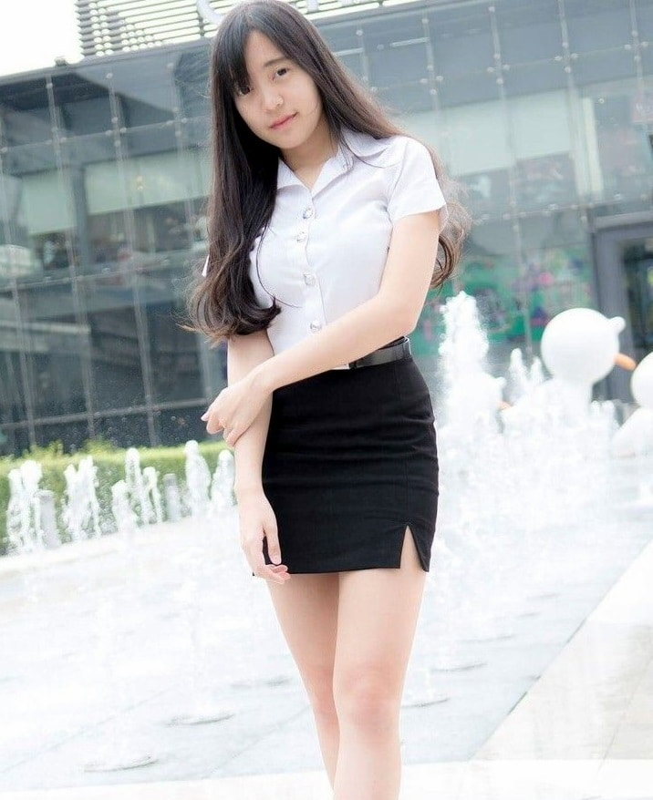 university girl in Bangkok
